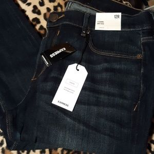 Express Denim Legging Jeans NWT